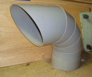 PVCダクト排出管