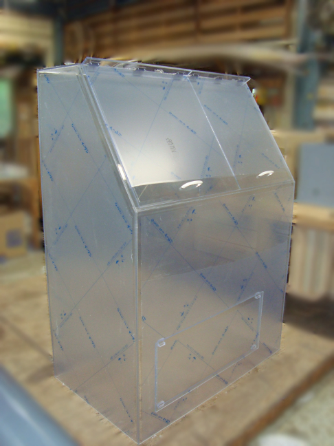 PVC透明ボックス