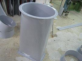 PVCダクト(角>丸)