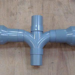 PVC配管プレハブ