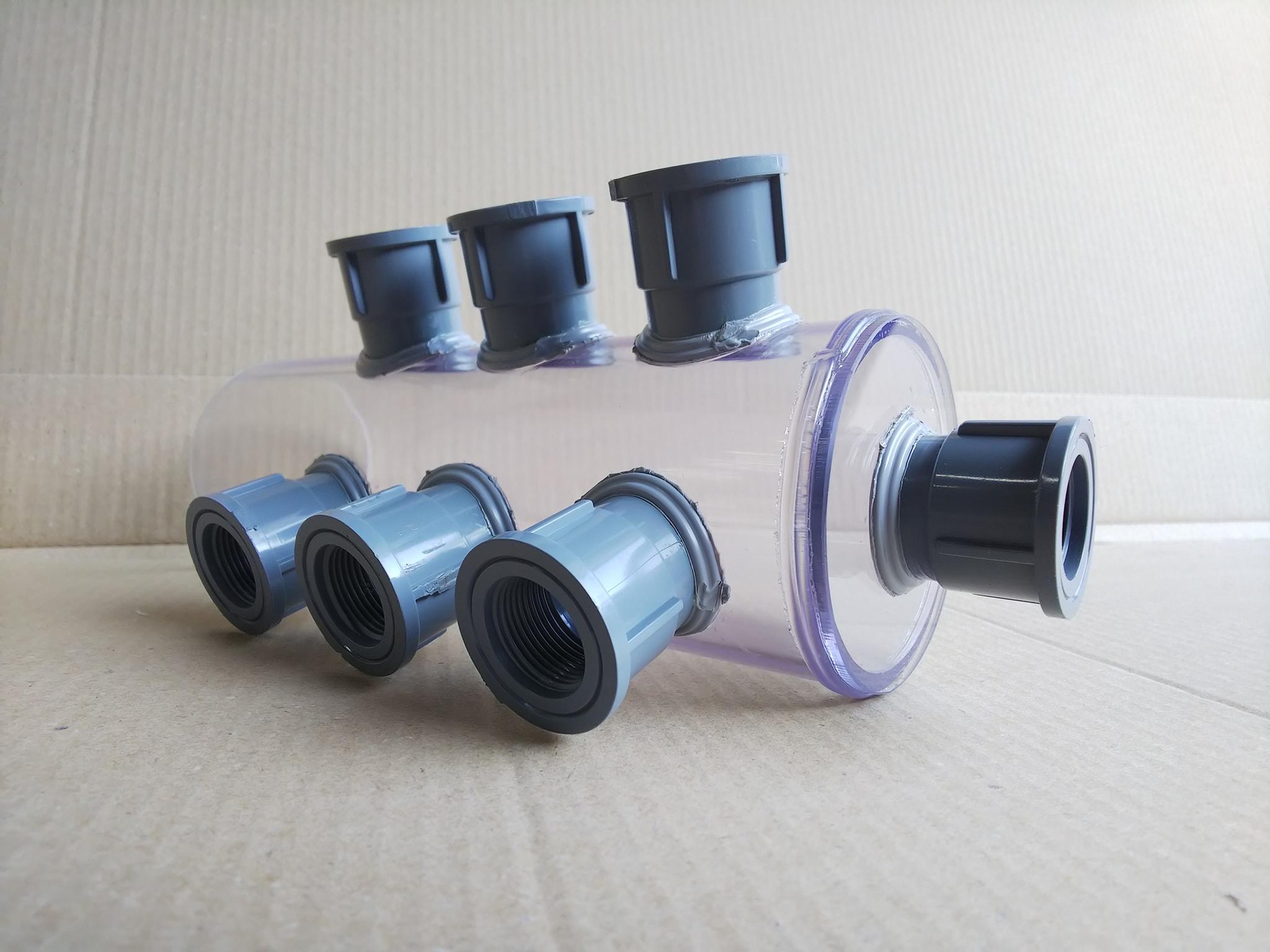透明PVCジョイント